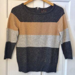 Fenn Wright Manson Angora Striped Sweater
